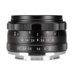 MeiKe MK-50mm F2.0 lens for Fuji X