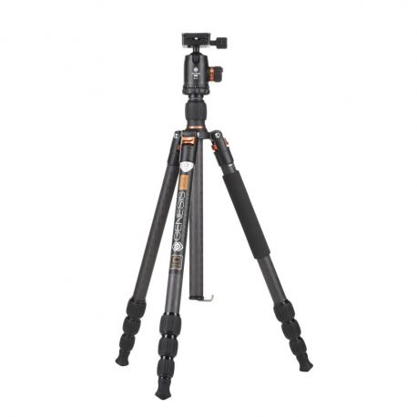Genesis Base C1 Kit orange - Tripod with Ballhead
