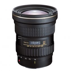 TOKINA AT-X 14-20mm F2 PRO DX lens for Canon