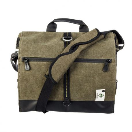 GENESIS DAKAR L Green - photo bag