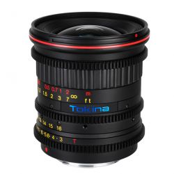 Tokina AT-X 11-16 T3 MF Cinema lens for Canon