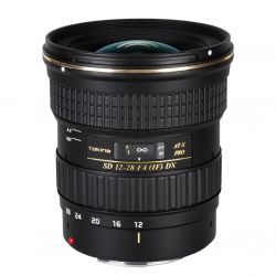 Tokina AT-X 12-28 F4 PRO DX lens for Canon