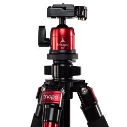 Triopo C-258 set with KJ-2 ballhead red