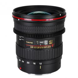 Tokina AT-X 12-28 F4 PRO DX V lens for Canon